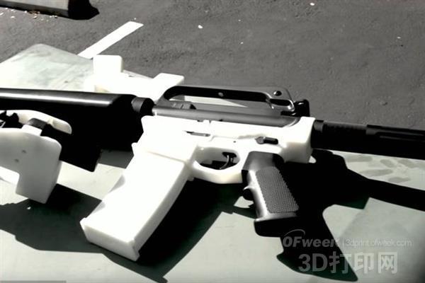 再掀舆论高潮:Cody Wilson发布3D打印步枪设计
