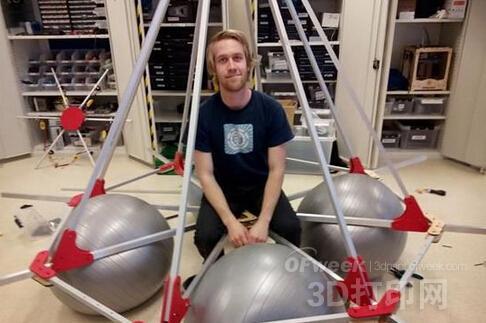 3D打印载重量61kg无人机创吉尼斯纪录