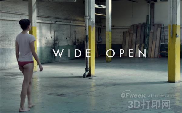 超幻想:3D打印为主题创作最新MV《Wide Open》
