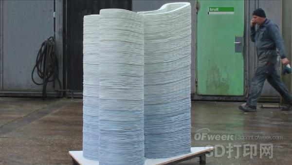 混凝土3D打印精度渐高 建筑产业危机重重
