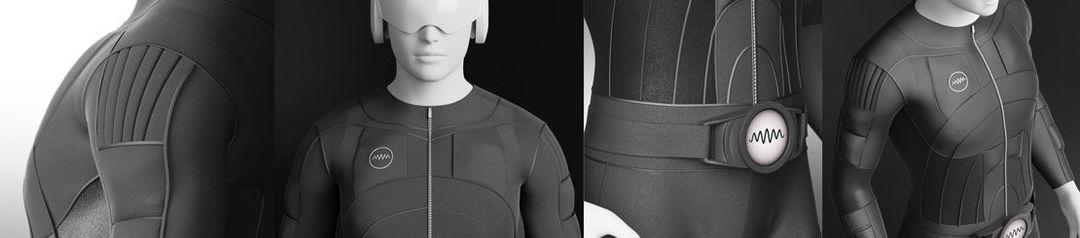 穿上这套衣服 就能感受来自虚拟世界的触感