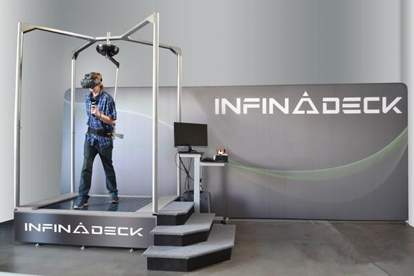 【爆料】Infinadeck:野心勃勃的VR行走设备