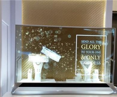 CES2016新亮点:LG秀全透明显示屏