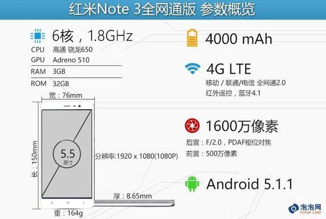 红米Note3全网通版体验:骁龙650能否力挽狂澜?