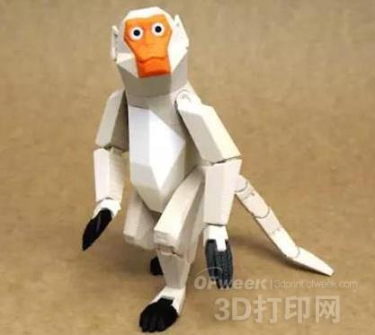 3D打印顽皮猴