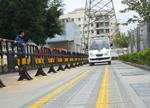 国内首条无线充电车道建成 电动汽车可边走边充