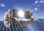 晶科能源陕西105kW光伏电站并网 收益投入村集体公益事业