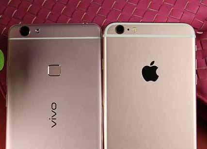 苹果iPhone6s Plus/Vivo X6Plus对比评测:外观相似 vivo竟能与苹果平分秋色