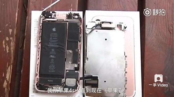 内地首炸!iPhone7被曝炸裂伤及脸部 电池完好