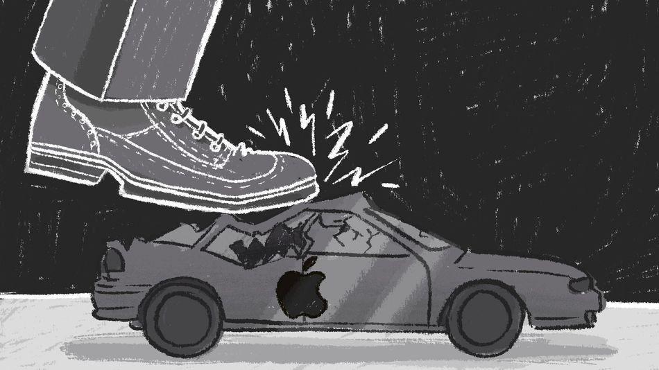 苹果汽车为何会出师未捷身先死?