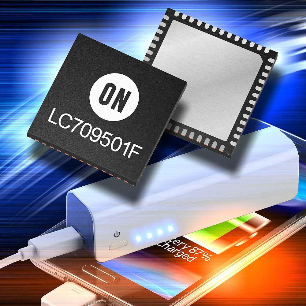 安森美半导体推出行业首款智能充电控制器
