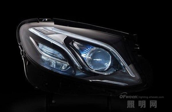 引领车灯时尚潮流 奔驰的LED大灯之路