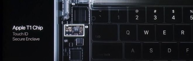 S1芯片的变体版本?新MacBook Pro的Touch Bar和T1芯片都是啥?