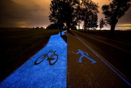 太阳能车道