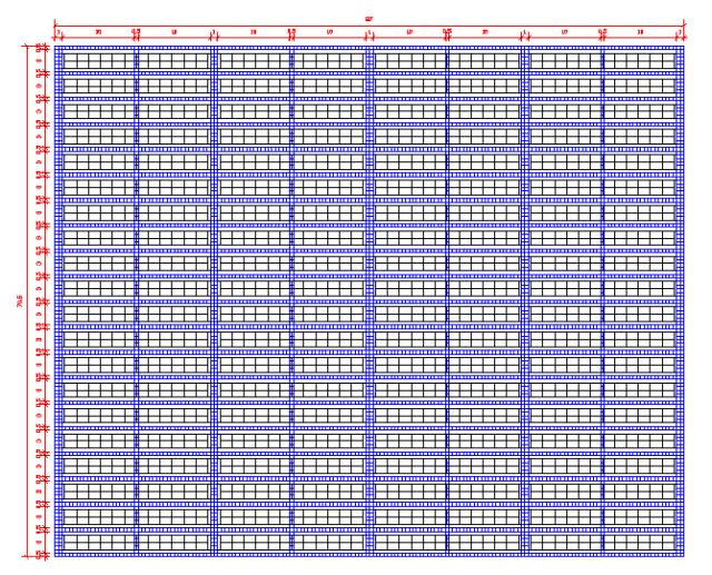 方阵排列图