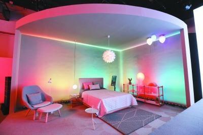 玩智能调控 LED照明灯