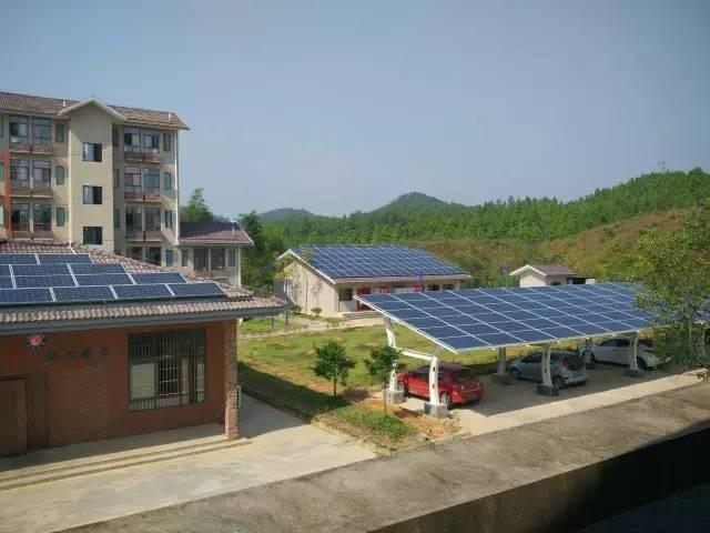 2016年8月,江西高速公路分布式光伏发电工程200多个站点勘察设计
