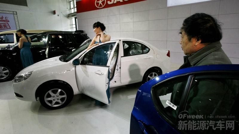 大众,江淮,电动汽车