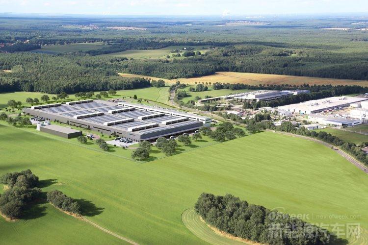 梅赛德斯-奔驰,电池厂