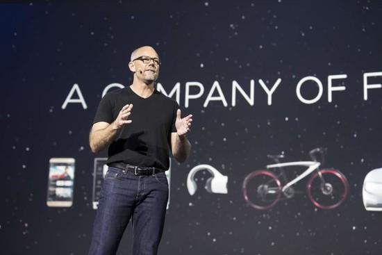乐视在美首秀 一口气发布电视、手机、VR、自行车等众多新品