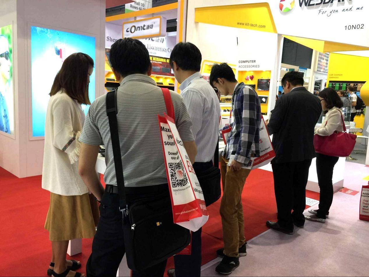 沐圣MOOLSUN携新款耳机再度亮相香港环球资源电子展