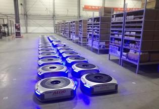 仓储机器人Geek+获5000万元A轮融资 行业爆发仍在酝酿