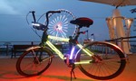 3D打印助造发光自行车