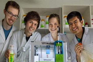 德国学生研制生物墨水bioINK3D打印人体组织