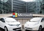微软和雷诺日产联盟合作 为其汽车提供云计算服务