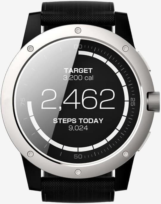 这块智能手表通过热电技术从体温获电
