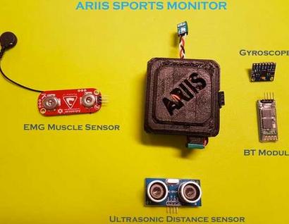 新型可穿戴监测器Ariis:一款模块化的运动数据传感器