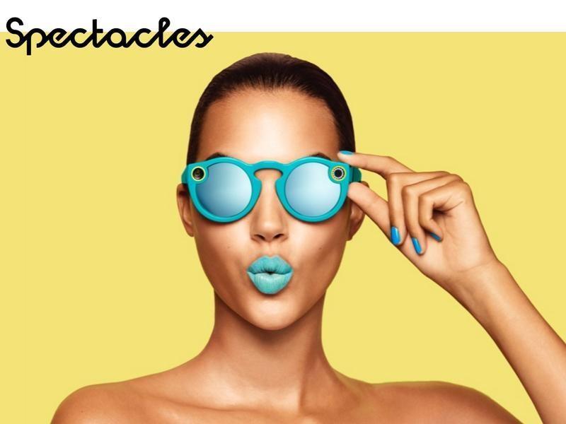 Snap这款智能眼镜能拍摄照片和视频 并上传至社交软件