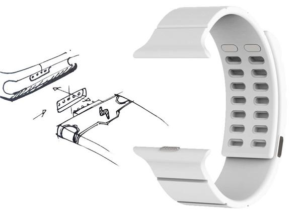 这个手表腕带能让Apple Watch续航更持久