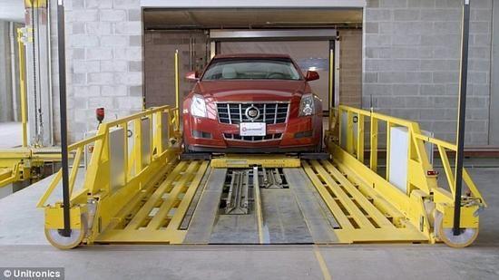 自动化智能停车系统帮你解决停车难问题