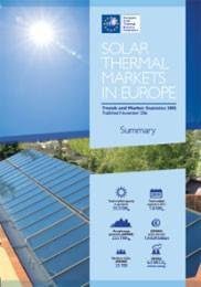 欧洲,太阳能热市场
