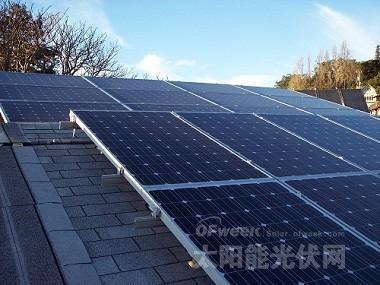 印度并网屋顶太阳能