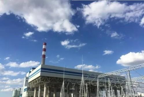 内蒙古大路2×300MW坑口煤矸石热电厂2号机组通过试运行