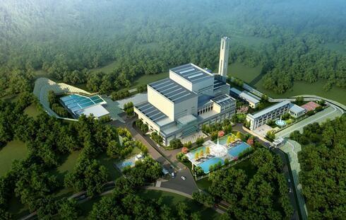总投资3.5亿元 都匀市生活垃圾焚烧发电项目正式动工