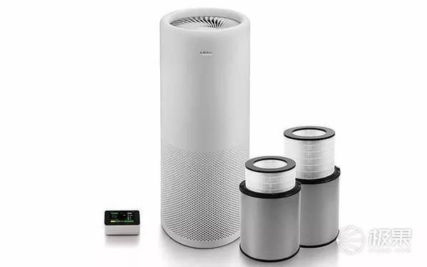 高颜值空气净化器让室内空气质量一目了然