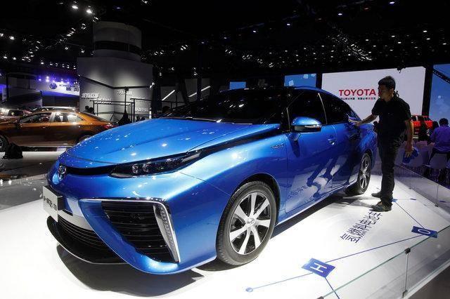 丰田在华测试Mirai氢燃料电池汽车