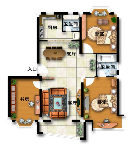如何用一万元打造三室两厅智能家居?