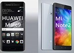 华为Mate 9/小米Note 2/小米5s Plus 国产手机的巅峰对决