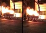 特斯拉第四起着火事故:高速碰撞系着火的主因