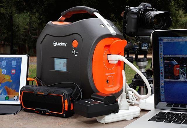 便携太阳能发电机让你在户外也能看电视