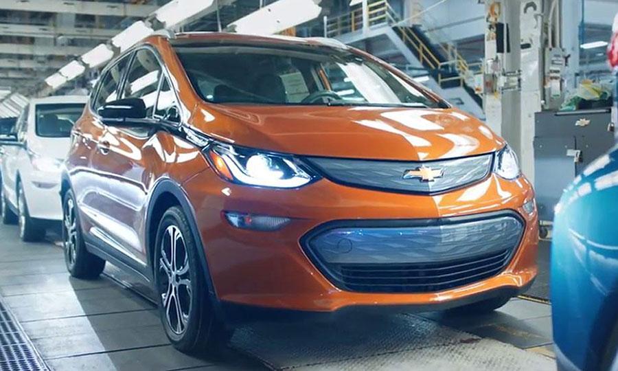 雪佛兰Bolt电动汽车正式在美上市