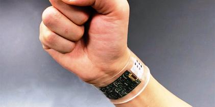 """新开发可穿戴式汗液生物传感器收集""""人体大数据"""""""