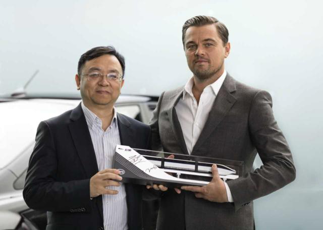 莱昂纳多成为比亚迪新能源车中国地区代言人