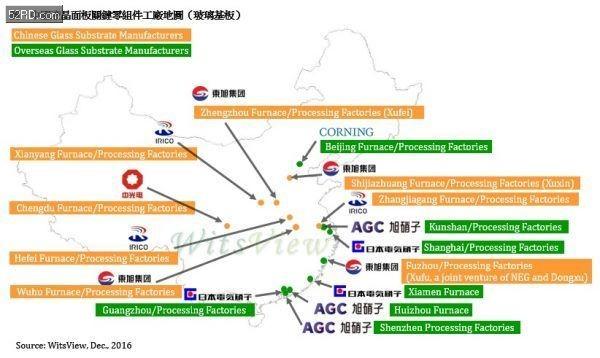 布局速度加快 2017年中国LCD供应链能否跻身国际一线大厂?