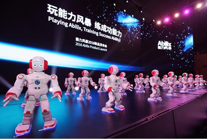 """""""机器人+教育""""3000亿蓝海初现 能力风暴剑指何方?"""