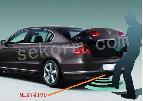 高功率LF启动器助力汽车后备箱实现无钥匙进入
